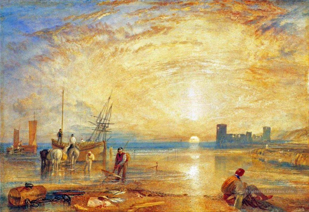 Tableau de Turner, Flint Castle, 1838